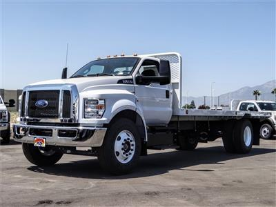2021 Ford F-650 Regular Cab DRW 4x2, Scelzi SFB Flatbed #FM0034 - photo 1