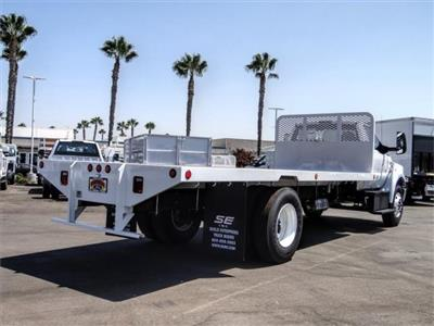 2021 Ford F-650 Regular Cab DRW 4x2, Scelzi SFB Flatbed #FM0034 - photo 4
