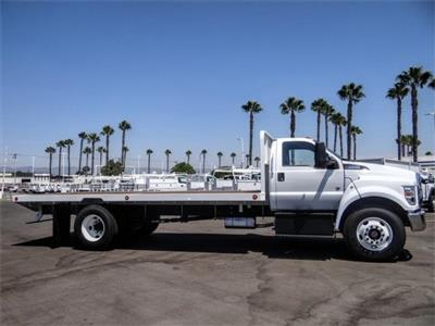 2021 Ford F-650 Regular Cab DRW 4x2, Scelzi SFB Flatbed #FM0034 - photo 5