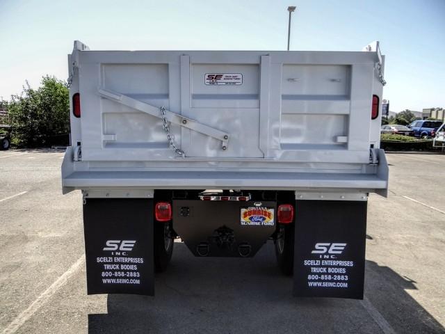 2021 Ford F-650 Regular Cab DRW 4x2, Scelzi Dump Body #FM0042 - photo 5