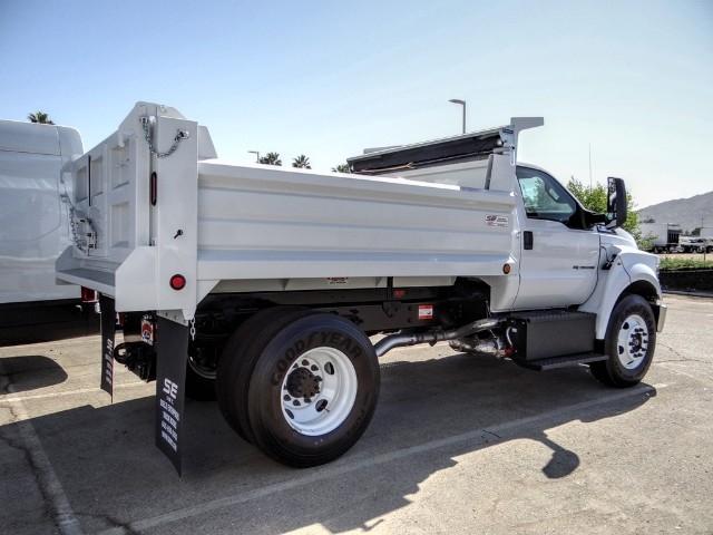 2021 Ford F-650 Regular Cab DRW 4x2, Scelzi Dump Body #FM0042 - photo 2