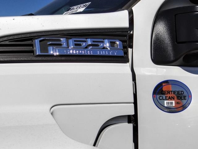 2021 Ford F-650 Regular Cab DRW 4x2, Scelzi SFB Flatbed #FM0067 - photo 9