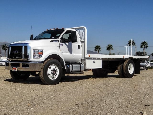 2021 Ford F-650 Regular Cab DRW 4x2, Scelzi Platform Body #FM0067 - photo 1