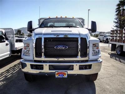 2021 Ford F-650 Regular Cab DRW 4x2, Scelzi SFB Stake Bed #FM0086 - photo 8