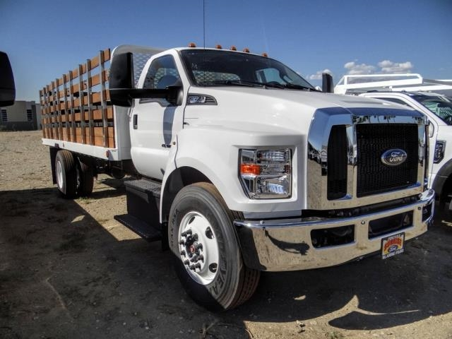 2021 Ford F-650 Regular Cab DRW 4x2, Scelzi SFB Stake Bed #FM0095 - photo 5