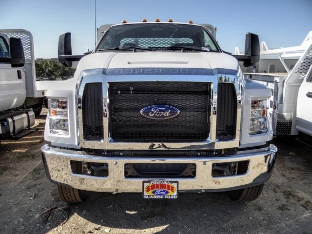 2021 Ford F-650 Regular Cab DRW 4x2, Scelzi SFB Stake Bed #FM0095 - photo 6