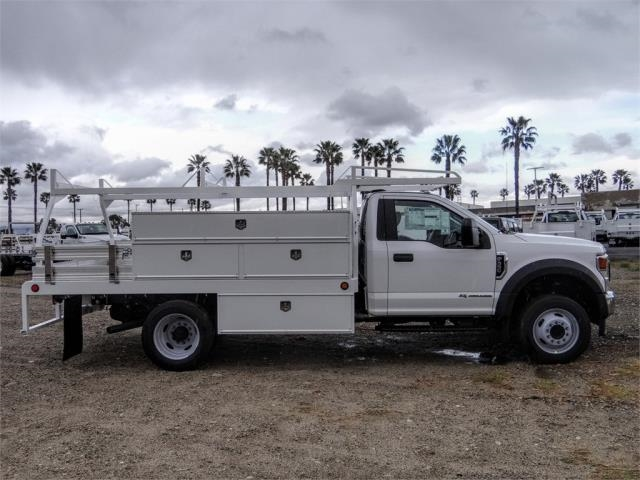 2021 Ford F-550 Regular Cab DRW 4x2, Scelzi SCTFB Contractor Body #FM0395 - photo 5