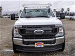 2021 Ford F-550 Regular Cab DRW 4x2, Scelzi SCTFB Contractor Body #FM0395 - photo 7