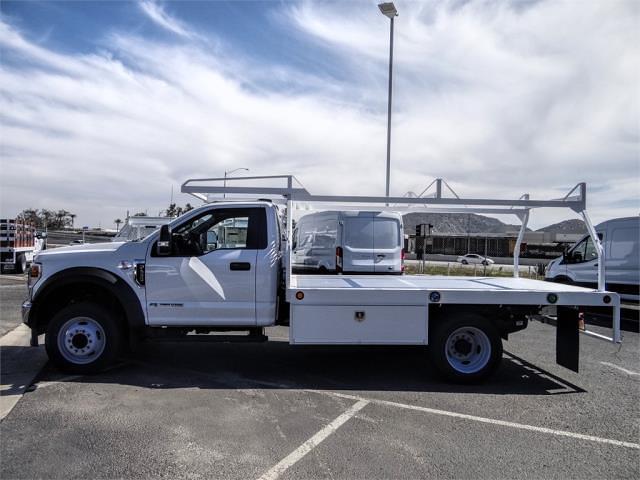 2020 Ford F-450 Regular Cab DRW 4x2, Scelzi WFB Flatbed #FM0490 - photo 3