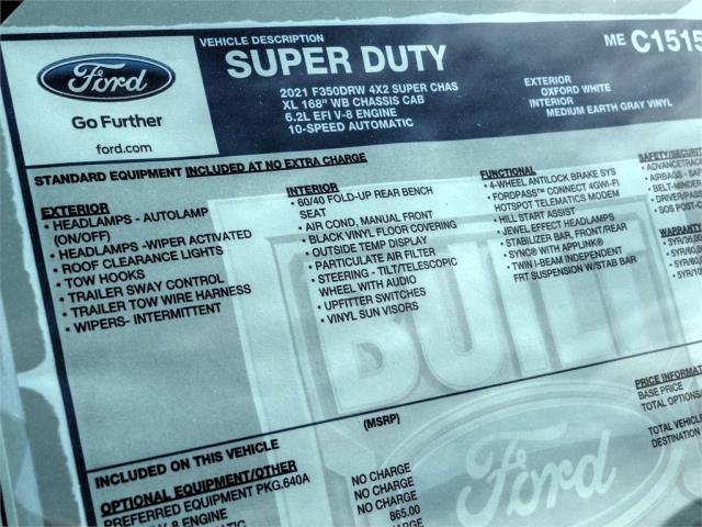 2021 Ford F-350 Super Cab DRW 4x2, Scelzi Signature Service Body #FM0515 - photo 11