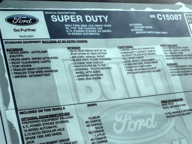 2021 Ford F-350 Crew Cab 4x2, Scelzi Signature Service Body #FM0533 - photo 11