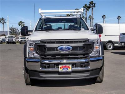 2021 Ford F-550 Crew Cab DRW 4x2, Scelzi Signature Service Body #FM0535 - photo 7