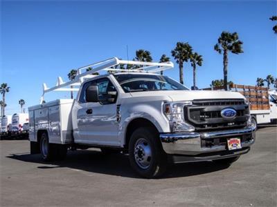 2021 Ford F-350 Super Cab DRW 4x2, Scelzi Signature Service Body #FM0536 - photo 6