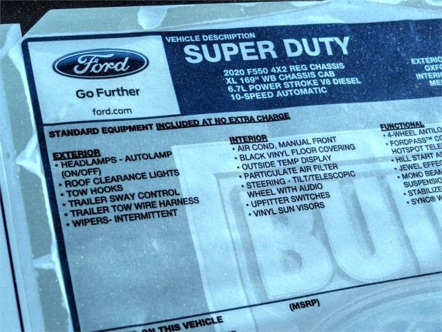 2020 Ford F-550 Regular Cab DRW 4x2, Scelzi Dump Body #FM0538 - photo 12
