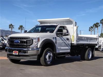 2020 Ford F-550 Regular Cab DRW 4x2, Scelzi Dump Body #FM0538 - photo 1