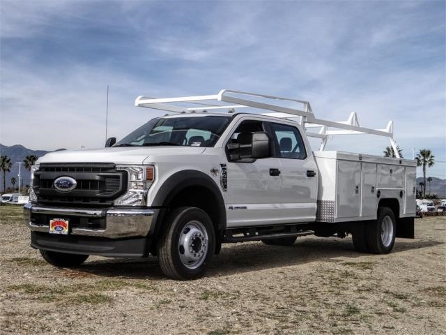 2021 Ford F-450 Crew Cab DRW 4x2, Scelzi Service Body #FM0630 - photo 1