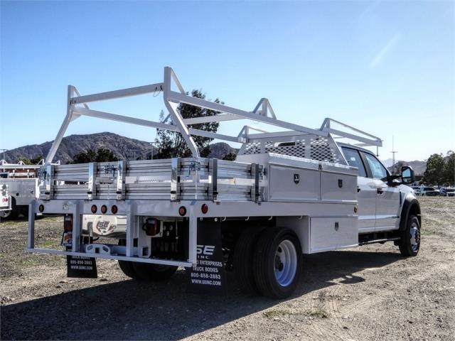 2021 Ford F-450 Crew Cab DRW 4x2, Scelzi CTFB Contractor Body #FM0636 - photo 4