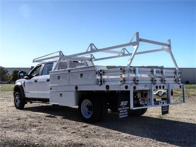 2021 Ford F-450 Crew Cab DRW 4x2, Scelzi CTFB Contractor Body #FM0636 - photo 2