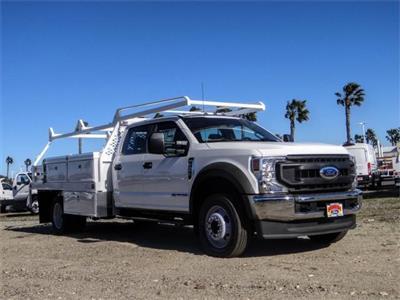 2021 Ford F-450 Crew Cab DRW 4x2, Scelzi CTFB Contractor Body #FM0636 - photo 6