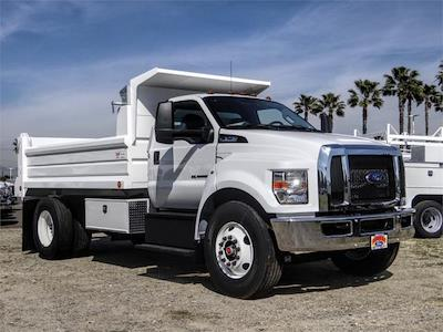2021 Ford F-750 Regular Cab DRW 4x2, Scelzi Dump Body #FM0661 - photo 6