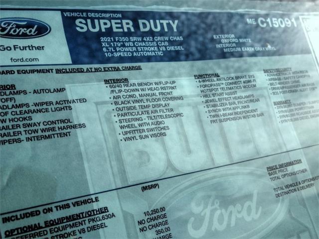 2021 Ford F-350 Crew Cab 4x2, Scelzi Signature Service Body #FM0718 - photo 11