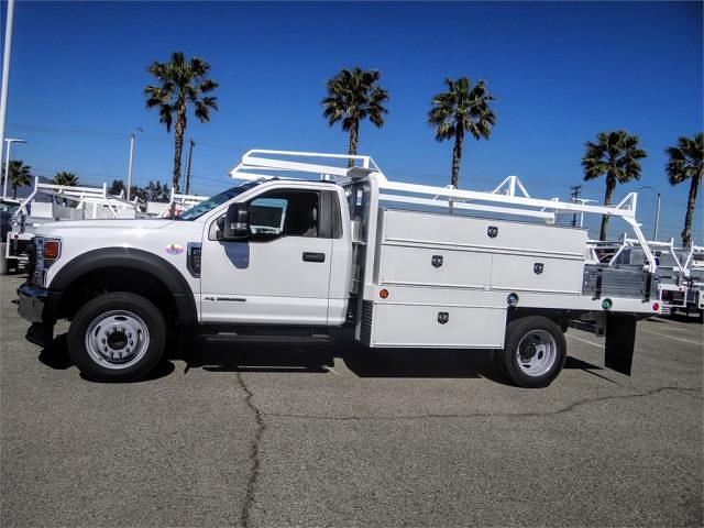 2020 Ford F-450 Regular Cab DRW 4x2, Scelzi SFB Contractor Body #FM0825 - photo 3