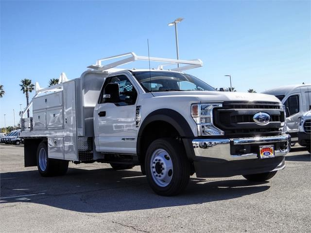 2020 Ford F-450 Regular Cab DRW 4x2, Scelzi SFB Contractor Body #FM0825 - photo 6