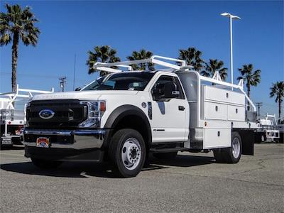 2020 Ford F-450 Regular Cab DRW 4x2, Scelzi SFB Contractor Body #FM0825 - photo 1