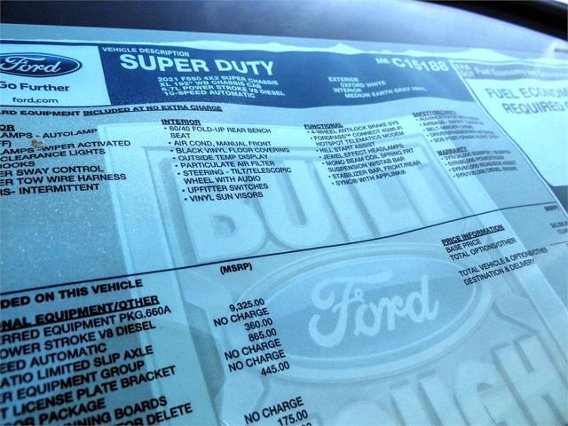 2021 Ford F-550 Super Cab DRW 4x2, Scelzi SEC Combo Body #FM0864 - photo 13