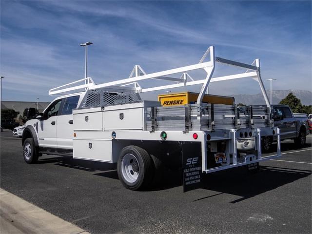 2021 Ford F-450 Crew Cab DRW 4x2, Scelzi Contractor Body #FM0867 - photo 1