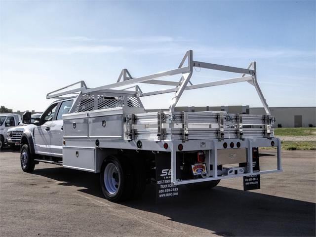 2021 Ford F-450 Crew Cab DRW 4x2, Scelzi CTFB Contractor Body #FM0869 - photo 2