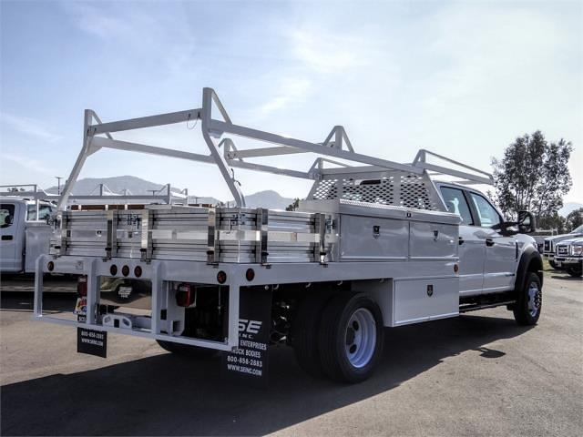 2021 Ford F-450 Crew Cab DRW 4x2, Scelzi CTFB Contractor Body #FM0869 - photo 4