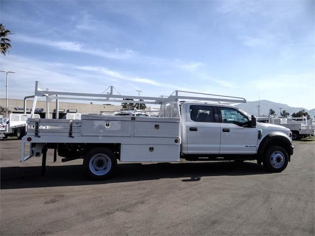 2021 Ford F-450 Crew Cab DRW 4x2, Scelzi CTFB Contractor Body #FM0869 - photo 5