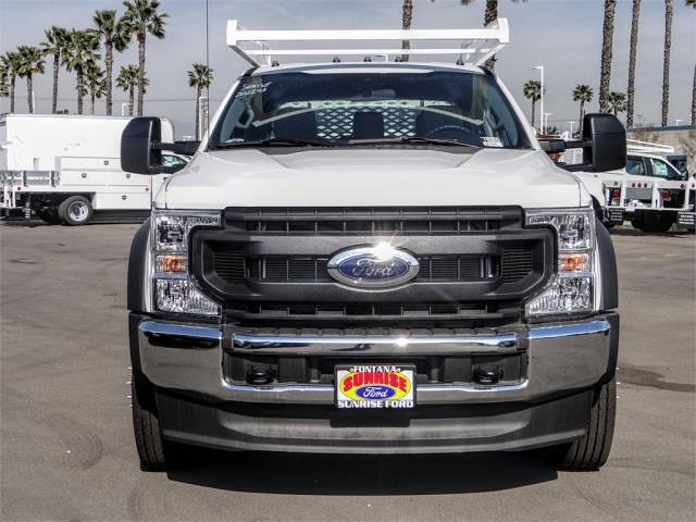 2021 Ford F-450 Crew Cab DRW 4x2, Scelzi CTFB Contractor Body #FM0869 - photo 7