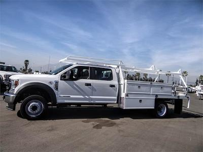 2021 Ford F-450 Crew Cab DRW 4x2, Scelzi CTFB Contractor Body #FM0869 - photo 3