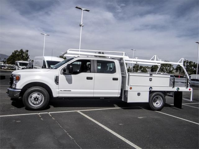 2021 Ford F-350 Crew Cab DRW 4x2, Scelzi CTFB Contractor Body #FM0914 - photo 3
