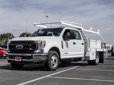 2021 Ford F-350 Crew Cab DRW 4x2, Scelzi CTFB Contractor Body #FM0914 - photo 1