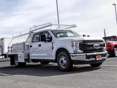 2021 Ford F-350 Crew Cab DRW 4x2, Scelzi CTFB Contractor Body #FM0914 - photo 6