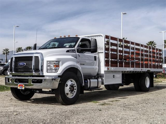 2021 Ford F-650 Regular Cab DRW 4x2, Scelzi Stake Bed #FM0931 - photo 1
