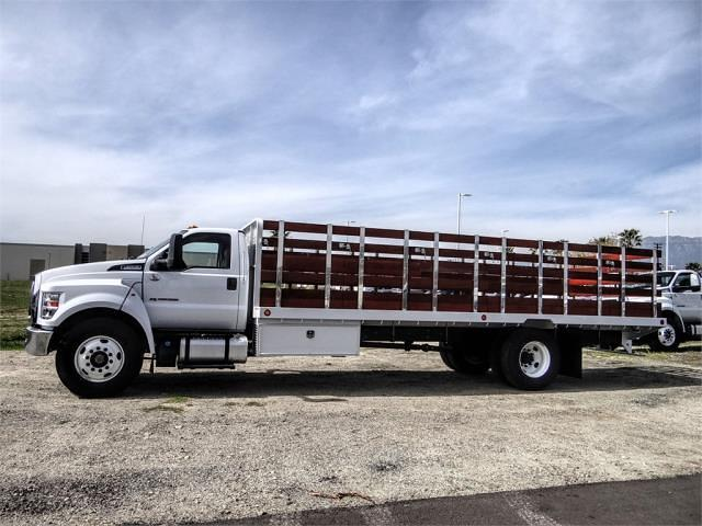 2021 Ford F-650 Regular Cab DRW 4x2, Scelzi SFB Stake Bed #FM0931 - photo 3