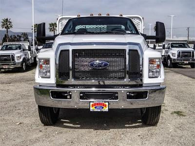 2021 Ford F-650 Regular Cab DRW 4x2, Scelzi SFB Stake Bed #FM0931 - photo 7