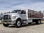 2021 Ford F-650 Regular Cab DRW 4x2, Scelzi SFB Stake Bed #FM0931 - photo 1
