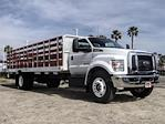 2021 Ford F-650 Regular Cab DRW 4x2, Scelzi SFB Stake Bed #FM0931 - photo 6