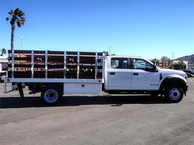 2021 Ford F-450 Crew Cab DRW 4x2, Scelzi WFB Stake Bed #FM0933 - photo 5
