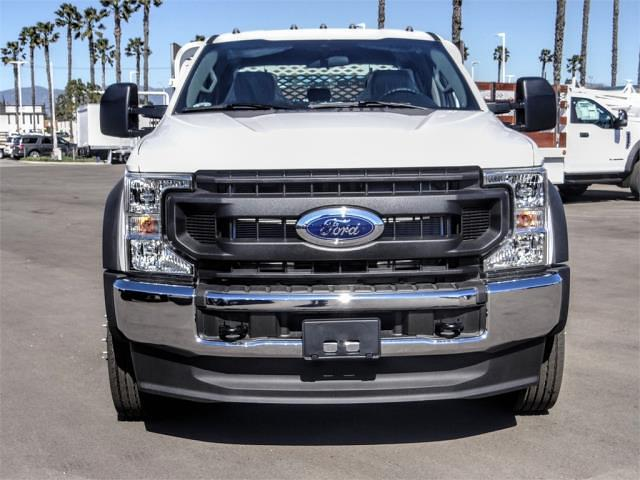 2021 Ford F-450 Crew Cab DRW 4x2, Scelzi WFB Stake Bed #FM0933 - photo 7