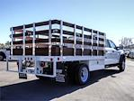 2021 Ford F-450 Crew Cab DRW 4x2, Scelzi WFB Stake Bed #FM0933 - photo 4
