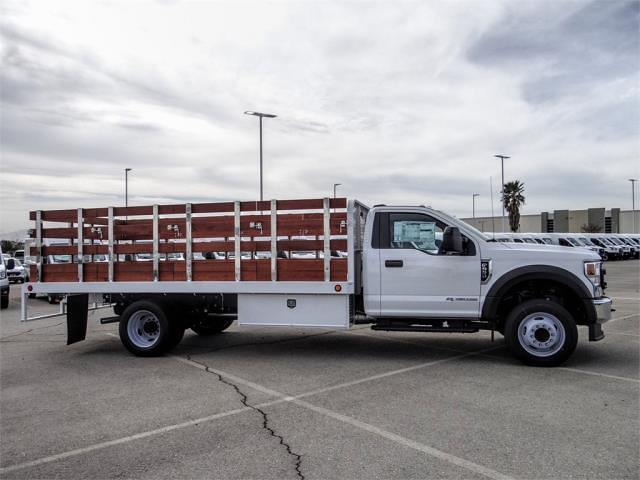 2021 Ford F-550 Regular Cab DRW 4x2, Scelzi WFB Stake Bed #FM0941 - photo 5