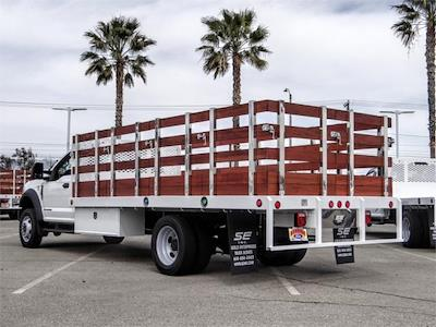 2021 Ford F-550 Regular Cab DRW 4x2, Scelzi WFB Stake Bed #FM0941 - photo 2