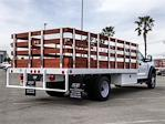 2021 Ford F-550 Regular Cab DRW 4x2, Scelzi WFB Stake Bed #FM0941 - photo 4