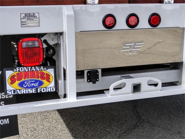 2021 Ford F-450 Crew Cab DRW 4x2, Scelzi WFB Stake Bed #FM0943 - photo 10